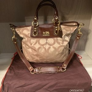 Coach Madison op art Julianne satchel
